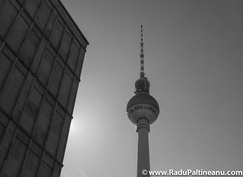 Turnul TV din Alexanderplatz.