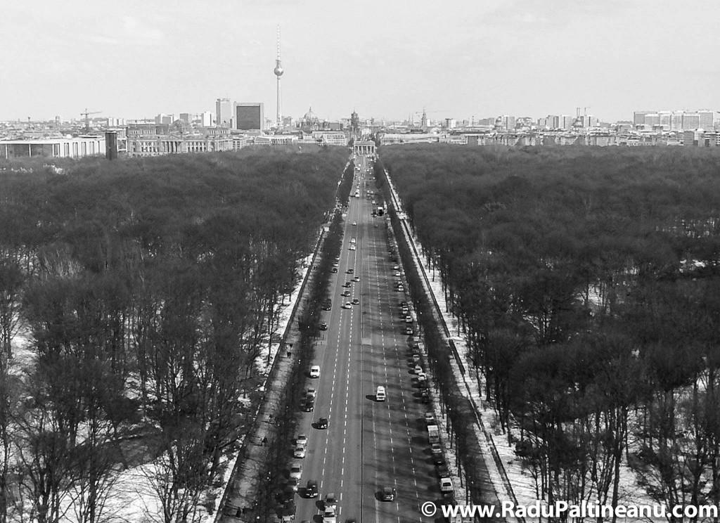 Vedere a Berlinului din Siegesaule.