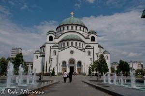 Catedrala Sfânta Sava, cea mai mare biserică ortodoxă din lume.
