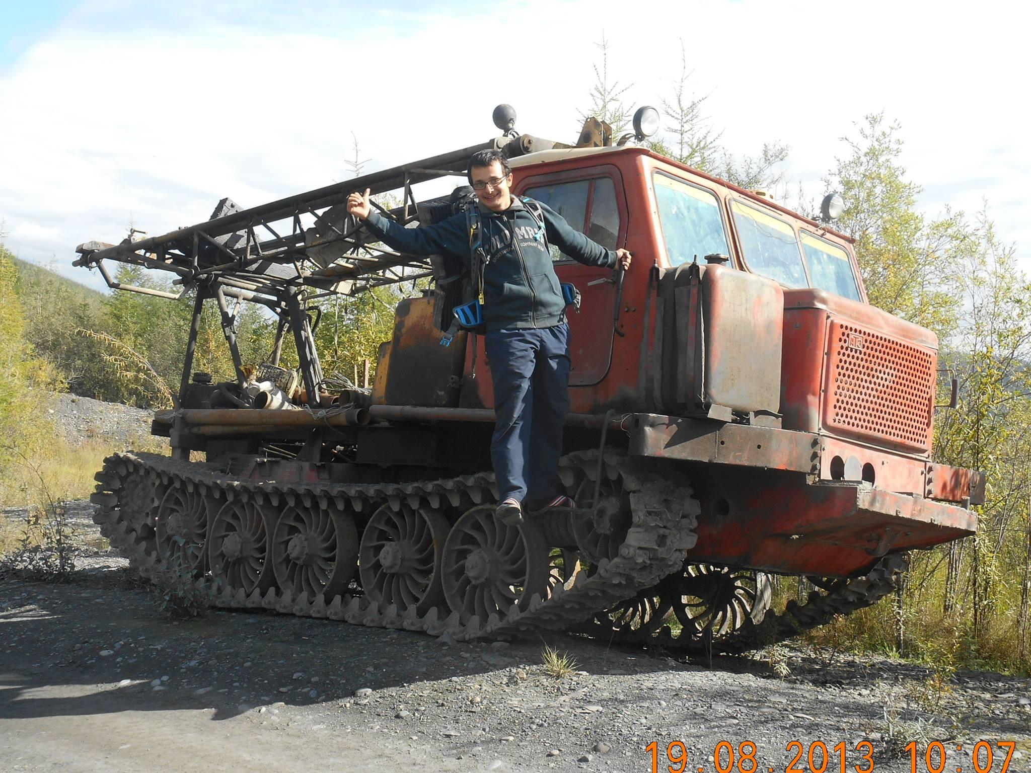 Timotei într-o bază militară rusească.