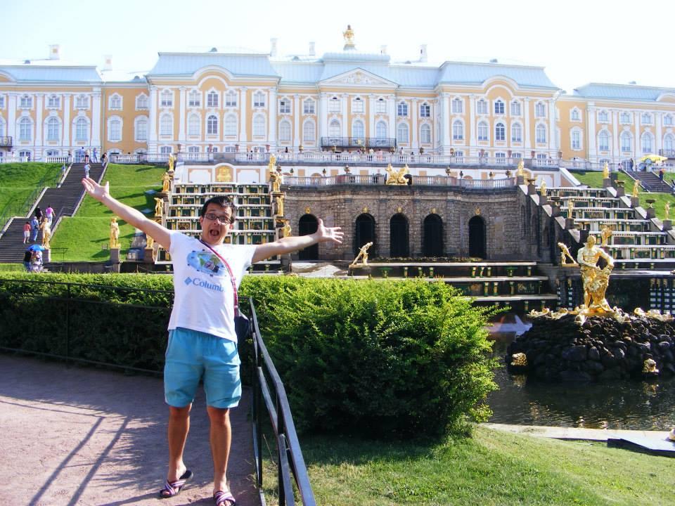Petrodvoreţ, Sankt Petersburg, Rusia.