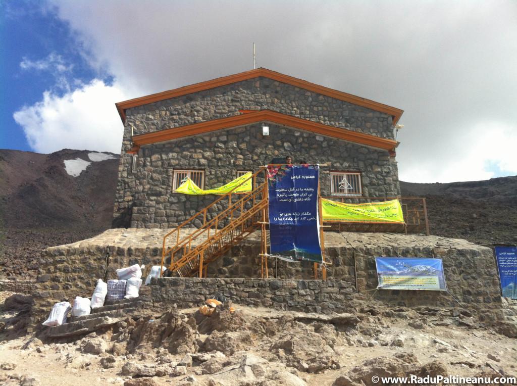 Cabana la 4200 de m altitudine.