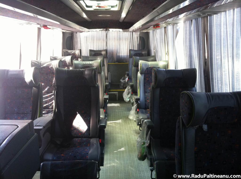 Autobuzele din Iran sunt extrem de ieftine și comfortabile.