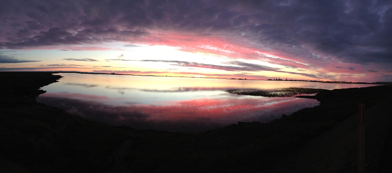 Peisaj arctic din nordul Alaskăi