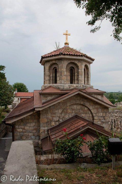 Biserică situată în interiorul fortăreței Kalemegdan.