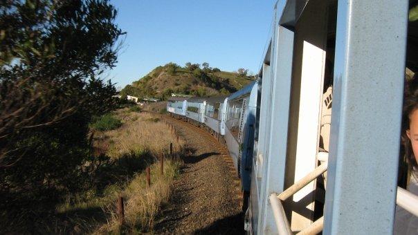 Trenul scenic care m-a dus de la Christchurch la Picton