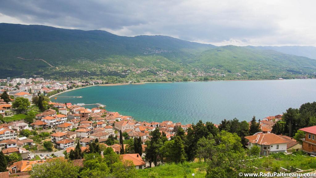Orașul Ohrid.