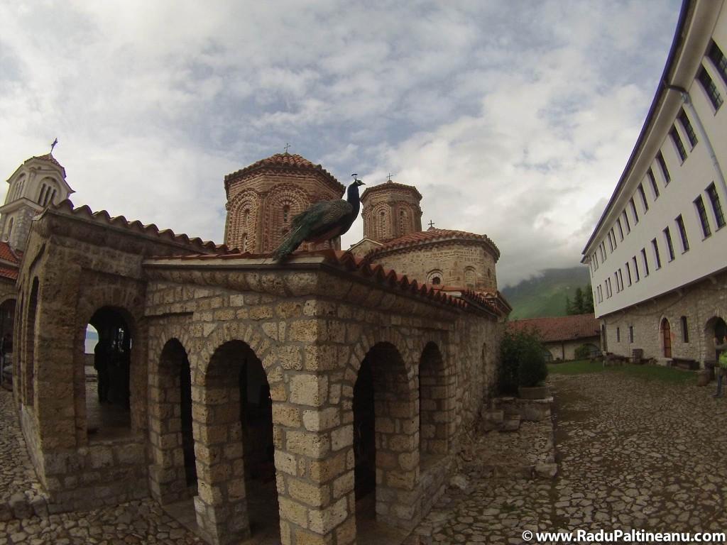 Biserica mănăstirii Sfântului Naum.